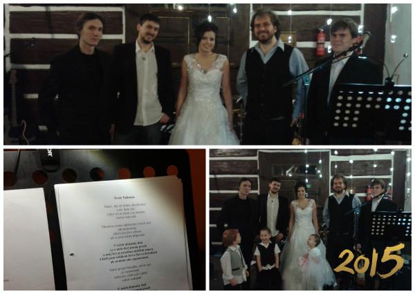 První svatba roku 2015 je odehrána!